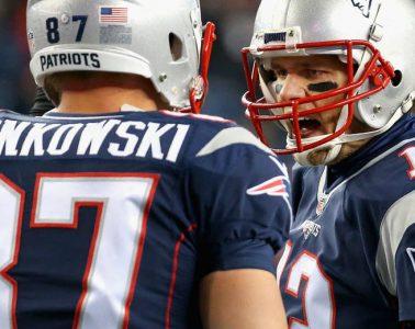 Tom Brady - Rob Gronkowski
